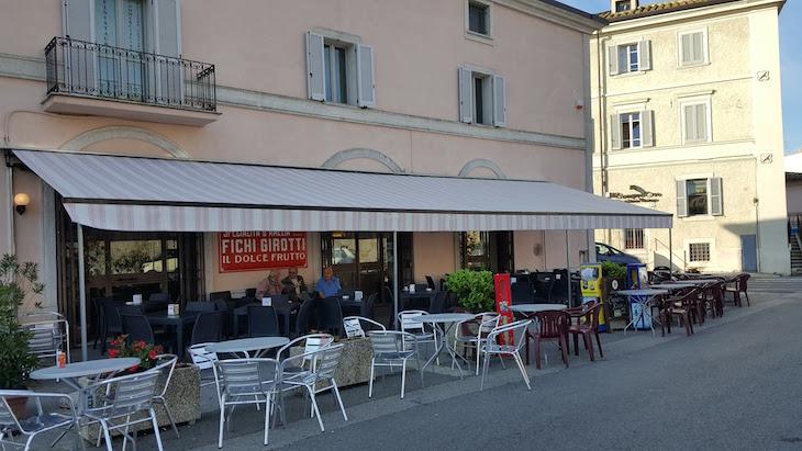Café em Amelia - Itália © Viaje Comigo