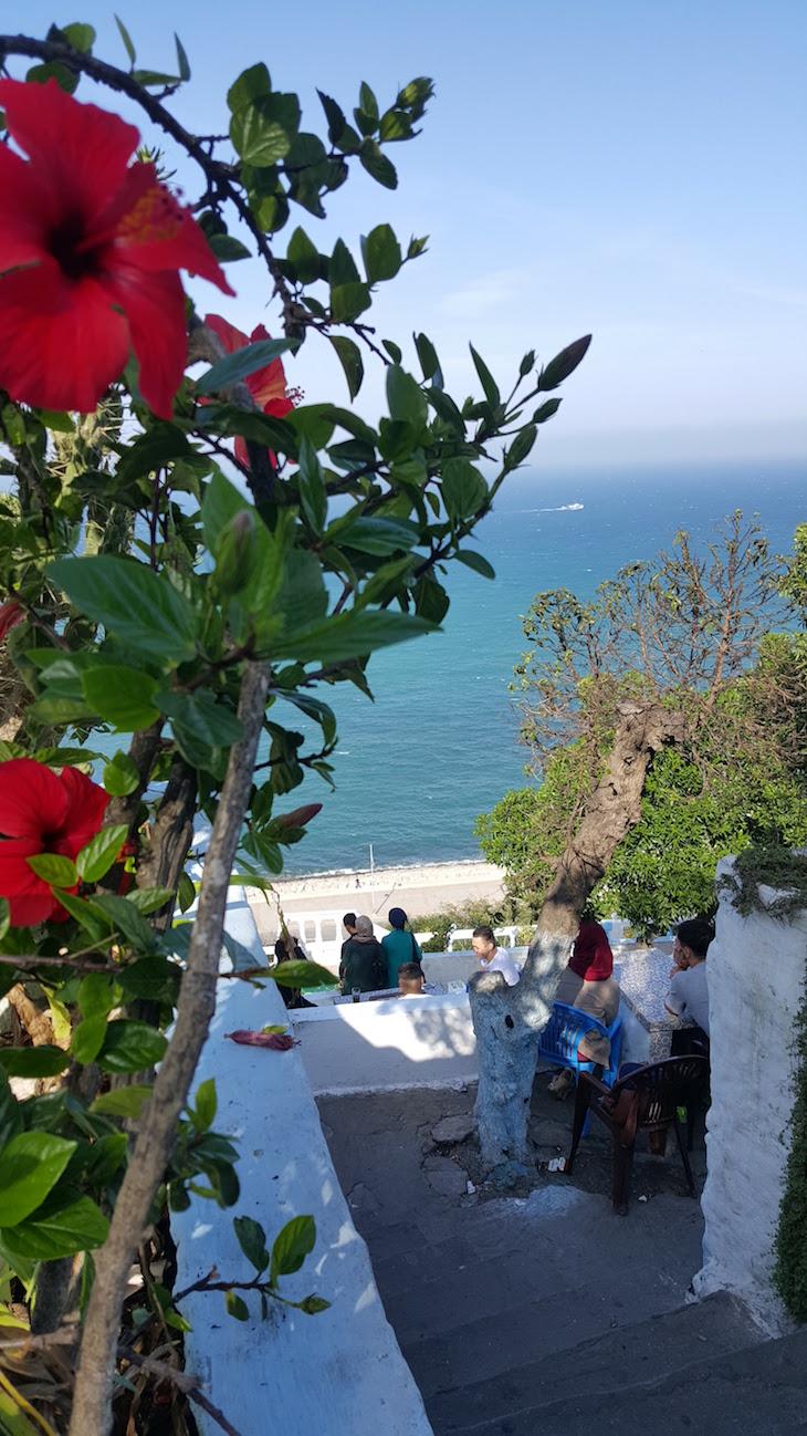 Café Hafa - Tânger - Marrocos © Viaje Comigo