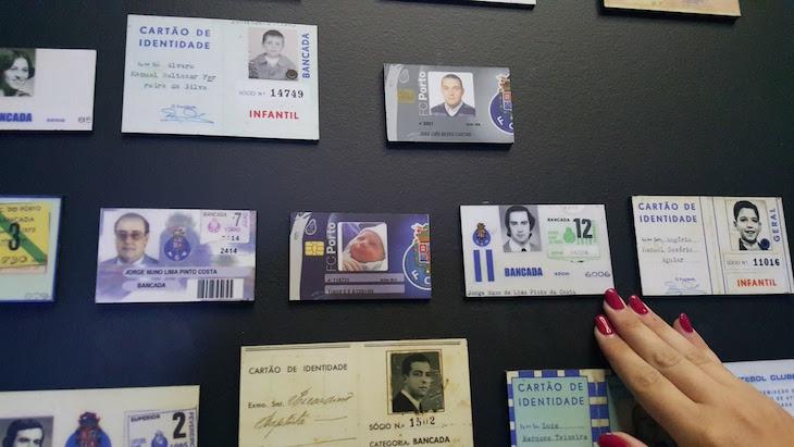 Cartão de sócio de Pinto da Costa - Museu do Futebol Clube do Porto © Viaje Comigo