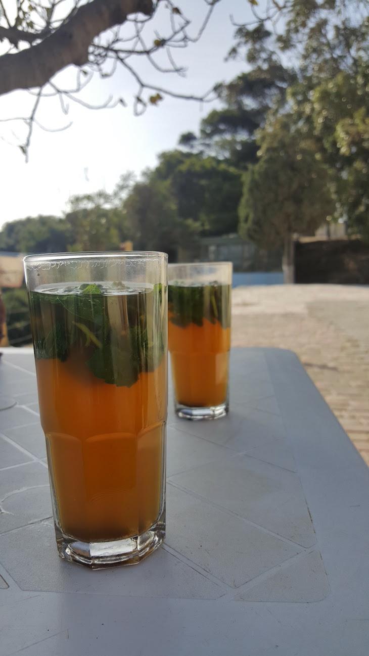 Chá marroquino - Tânger - Marrocos © Viaje Comigo