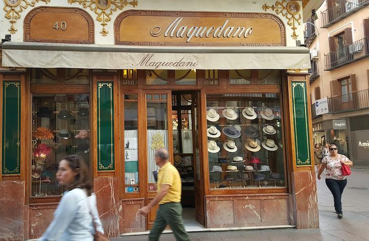 Lojas tradicionais em Sevilha © Viaje Comigo