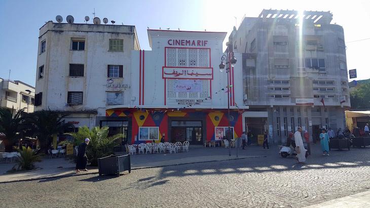 Cinema Rif - Tânger - Marrocos © Viaje Comigo