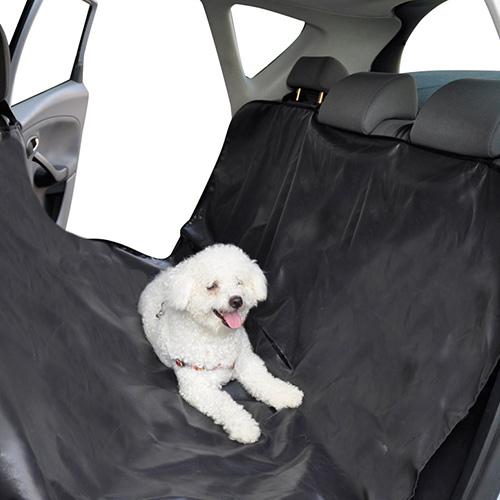 Cobre-assentos protector de nylon para carro © DR