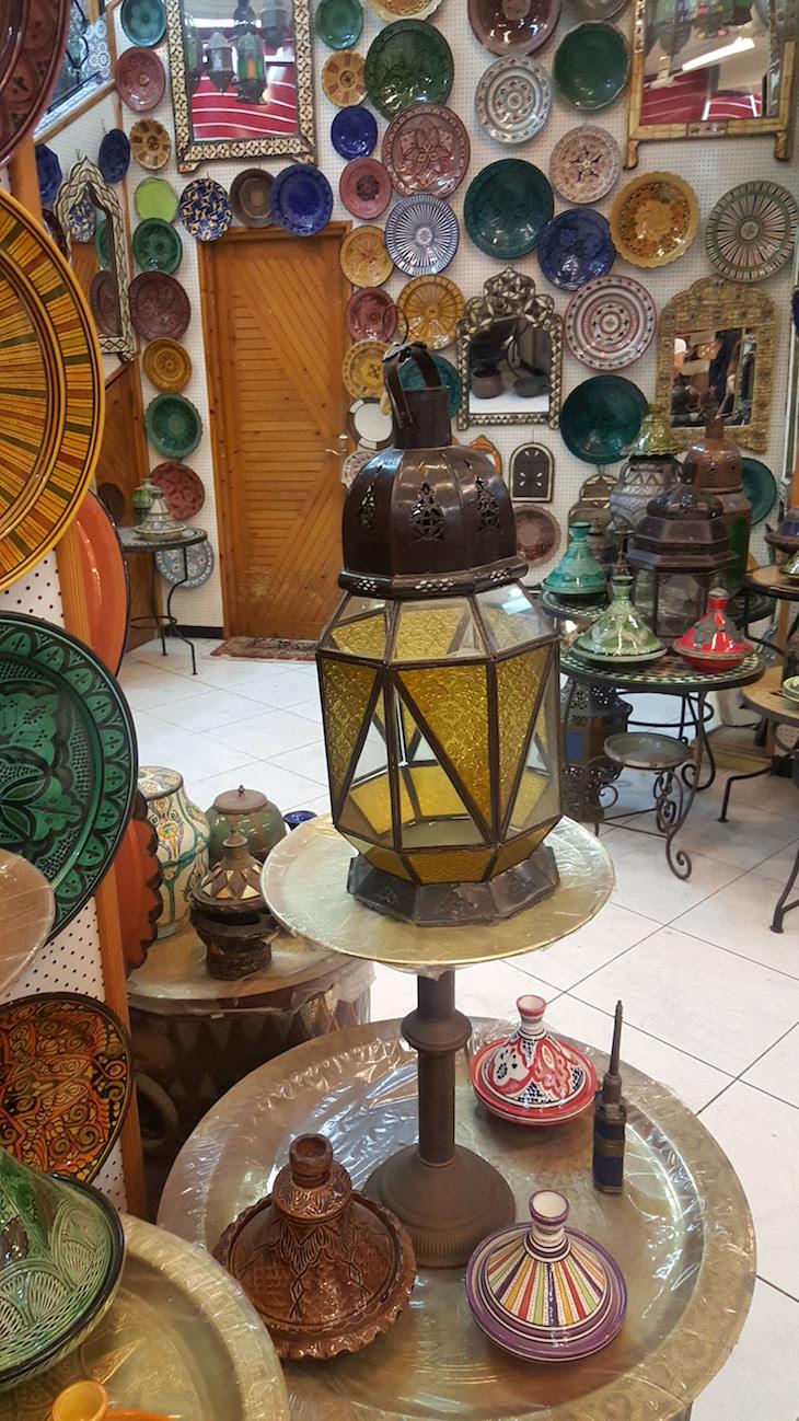 Compras em Tânger - Marrocos © Viaje Comigo