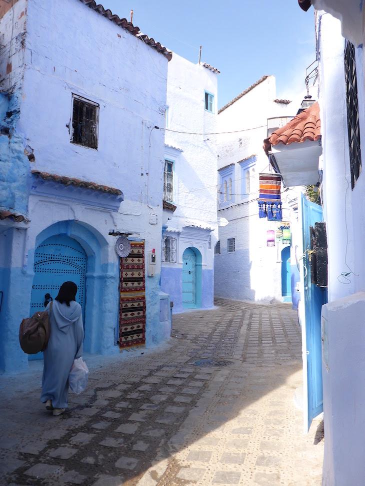 Casas em Chefchaouen, Marrocos © Viaje Comigo