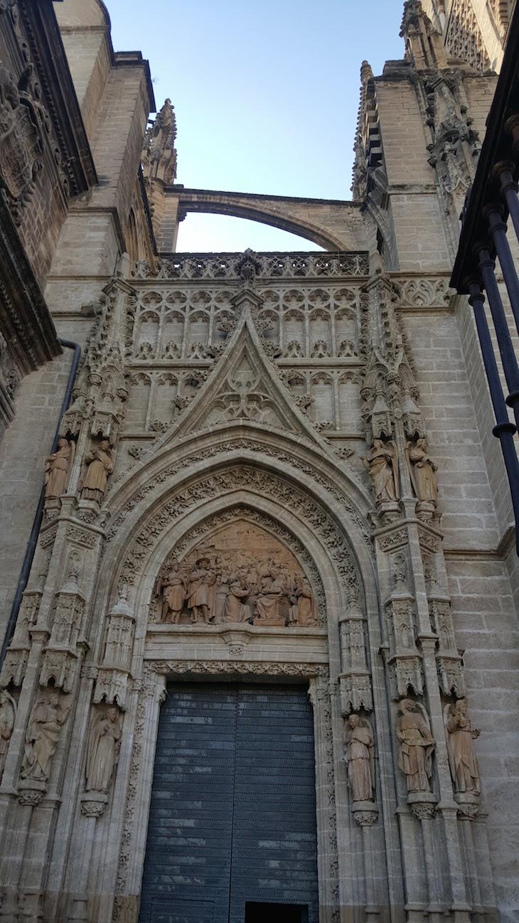 Entrada da catedral de Sevilha © Viaje Comigo