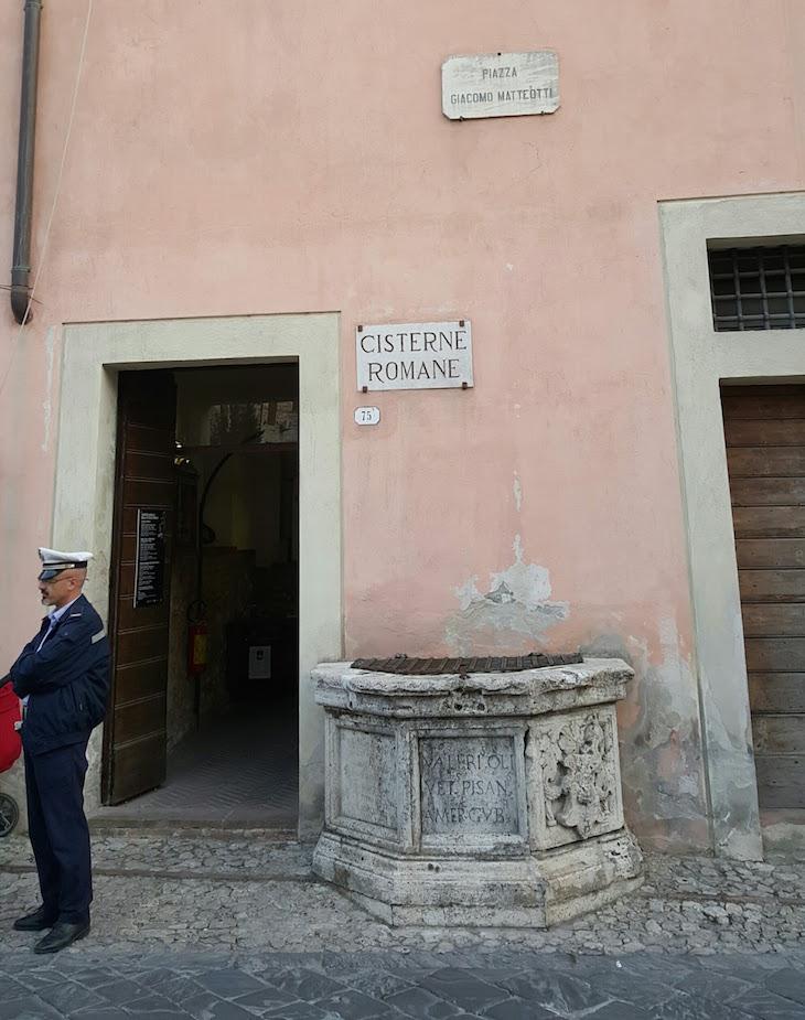 Cisterna Romana de Amelia - Itália © Viaje Comigo