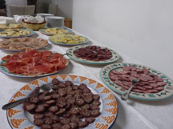 Restaurante Casa Tuscia, Nepi, Itália © Viaje Comigo