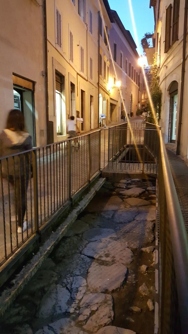 Estrada Romana de Amelia - Itália © Viaje Comigo