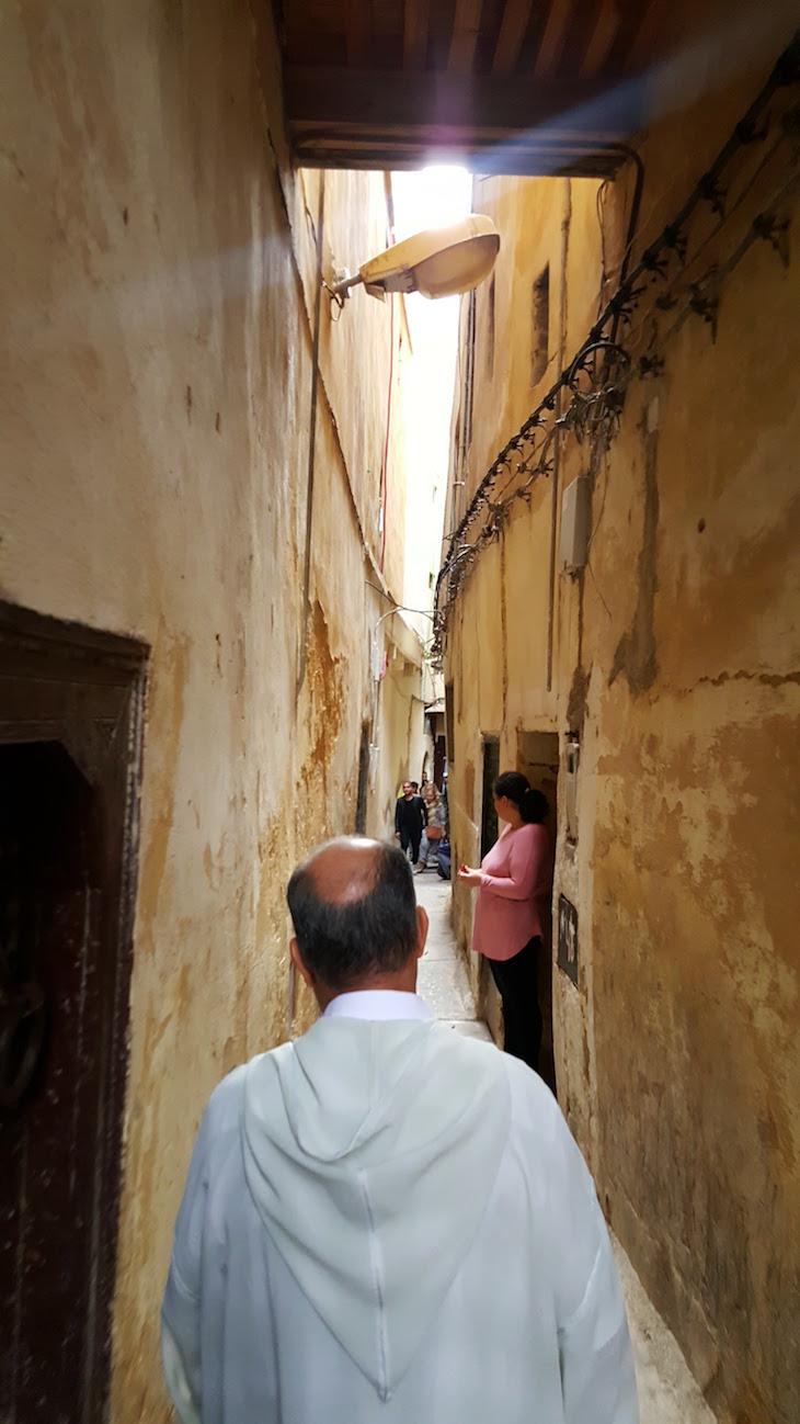 Ruas estreitas de Fez - Marrocos @ Viaje Comigo