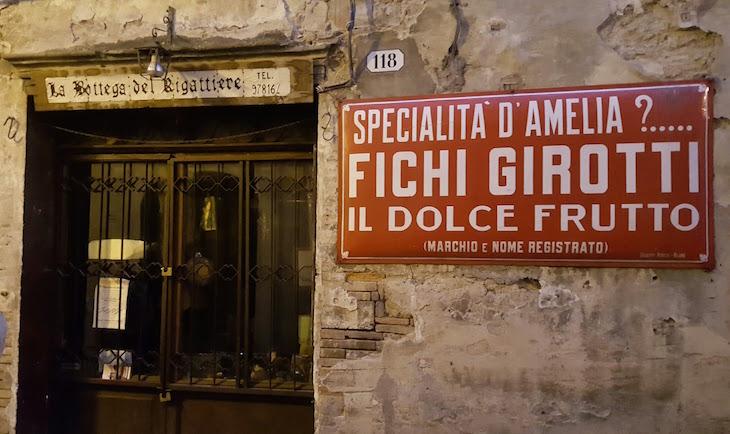 Loja de Fichi Girotti - Amelia - Itália © Viaje Comigo