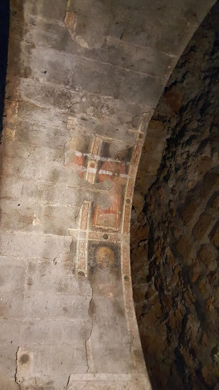 Frescos no Castelo Borgia - Nepi - Itália © Viaje Comigo