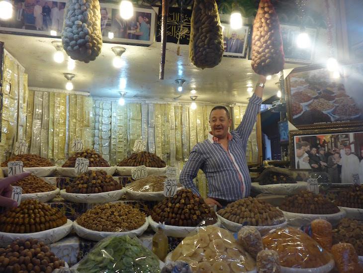 Frutos secos - Fez - Marrocos © Viaje Comigo
