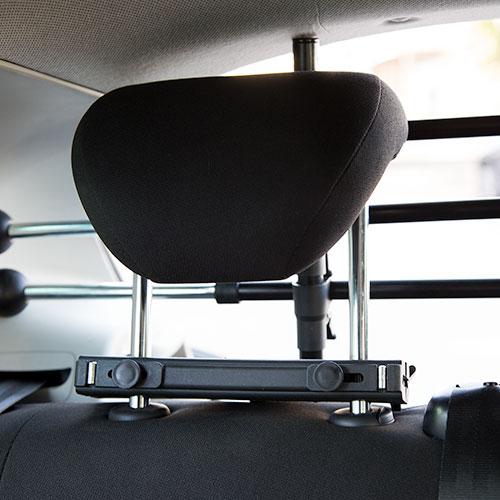 Grade de separação robusta para automóvel TK-Pet Safe Trip © DR