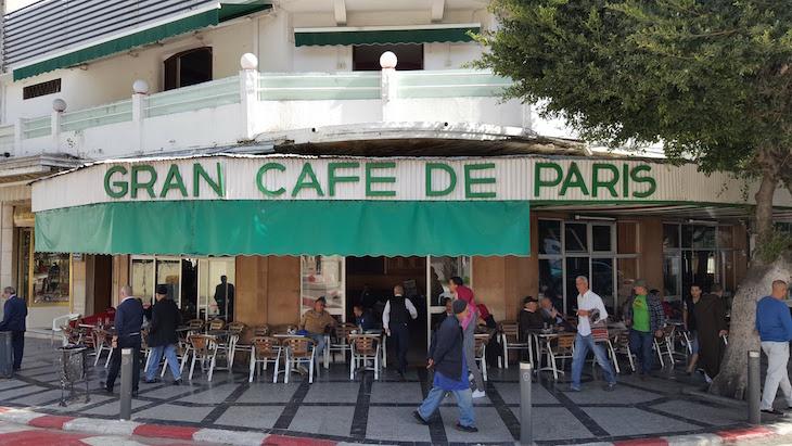 Grand Cafe de Paris - Tânger Marrocos © Viaje Comigo
