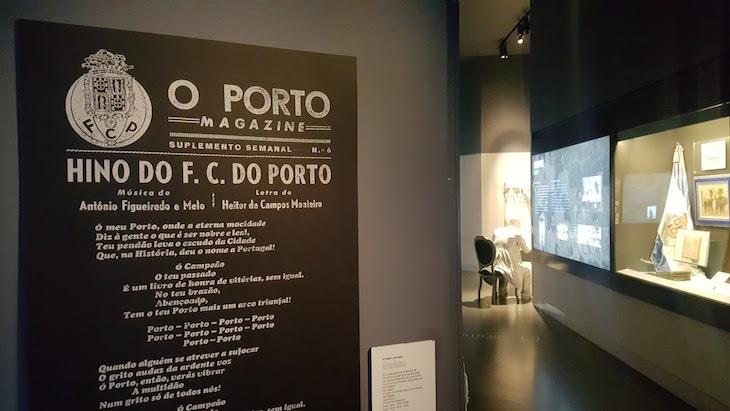 Hino do FCP - Museu do Futebol Clube do Porto © Viaje Comigo