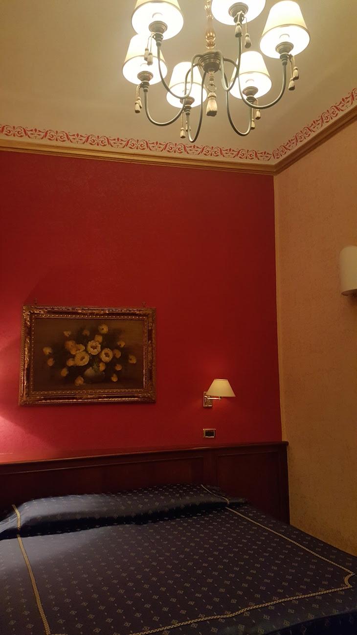Quarto do hotel Relais Falisco em Civita Castellana - Itália © Viaje Comigo