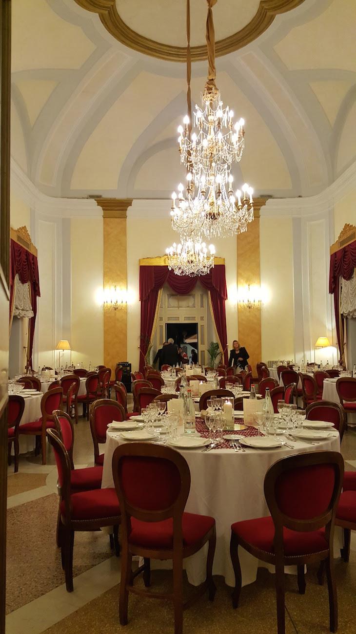 Jantar de gala na Villa Tuscolana - Itália © Viaje Comigo