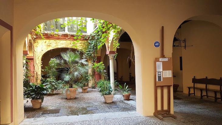 Jardins interiores em Sevilha © Viaje Comigo