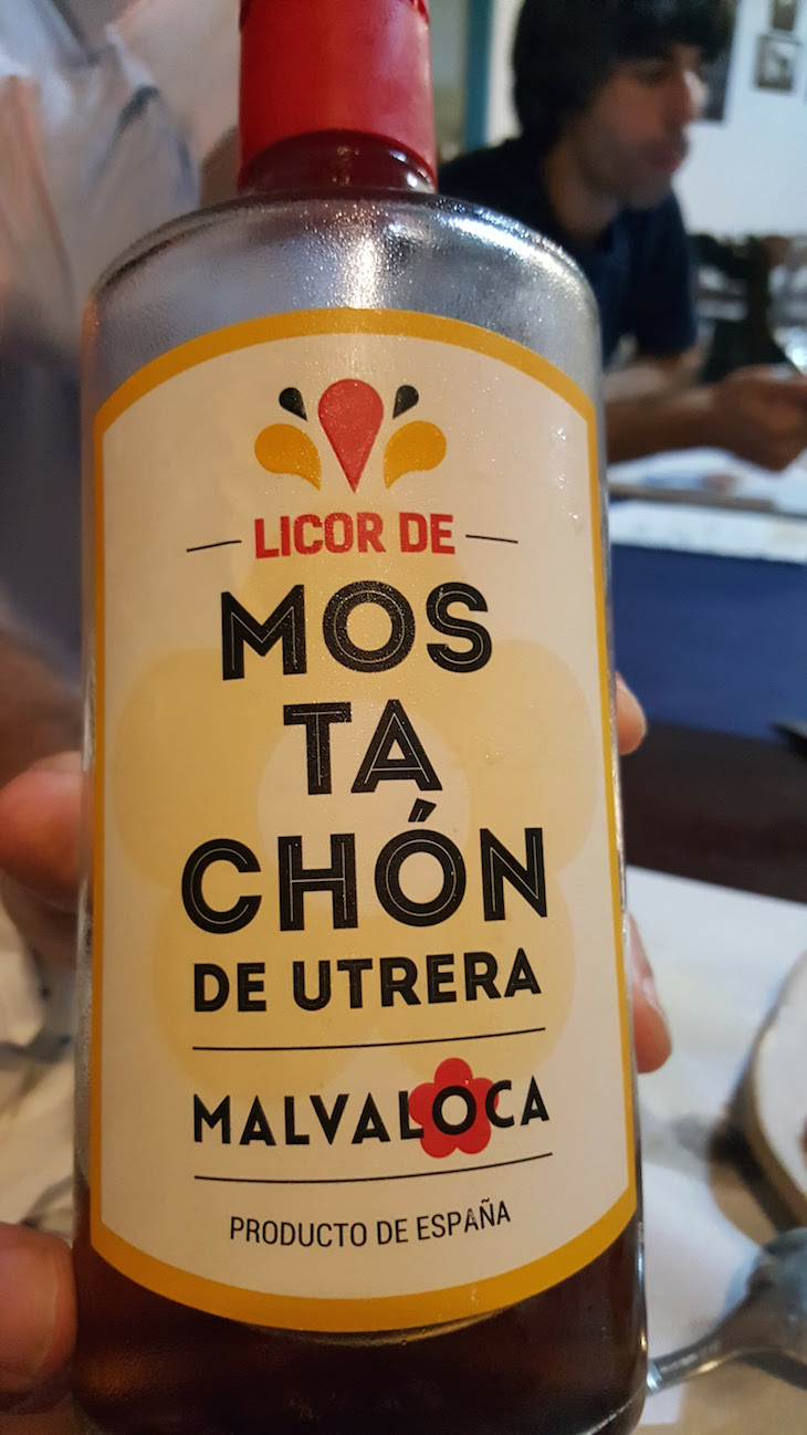 Licor de Mostachón no Restaurante El Arco - Utrera © Viaje Comigo