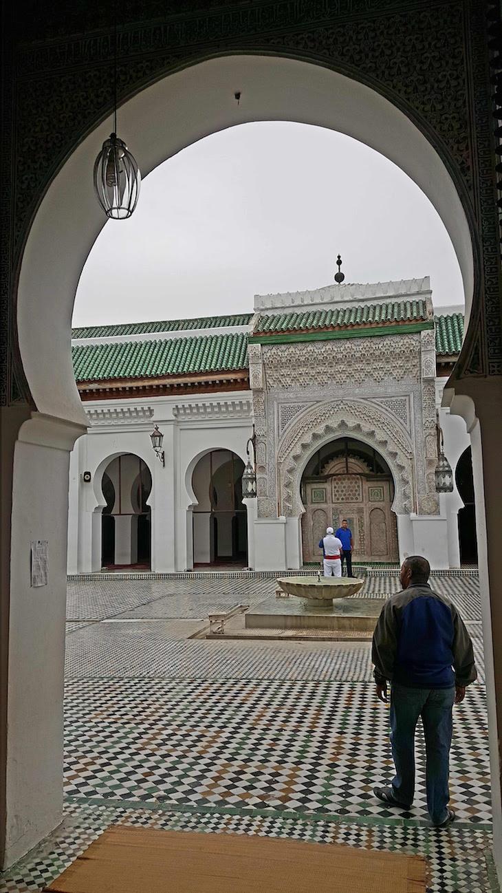 Mesquita Al Quaraouiyine - Fez - Marrocos © Viaje Comigo