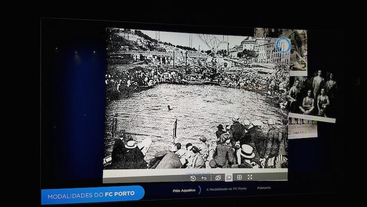 Quando o pólo-aquático era praticado no rio Douro - Modalidades - Museu do Futebol Clube do Porto © Viaje Comigo