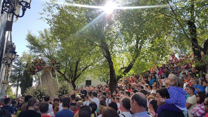 No Santuário da Virgem da Serra-Cabra © Viaje Comigo