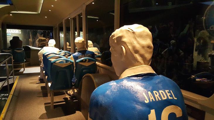 No autocarro azul e branco - Museu do Futebol Clube do Porto © Viaje Comigo