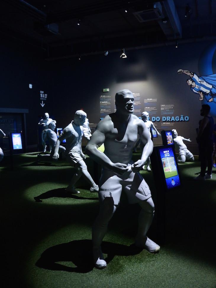 Hulk no 11 do FCP - Museu do Futebol Clube do Porto © Viaje Comigo