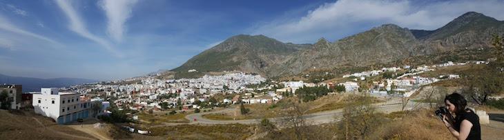 Panorâmica de Chefchaouen, Marrocos © Viaje Comigo