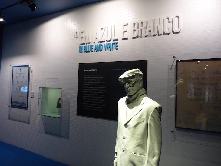 Pedroto no Balneário - Museu do Futebol Clube do Porto © Viaje Comigo
