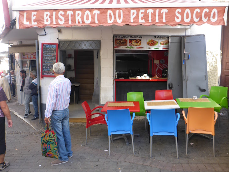 Petit Socco - Tânger - Marrocos © Viaje Comigo