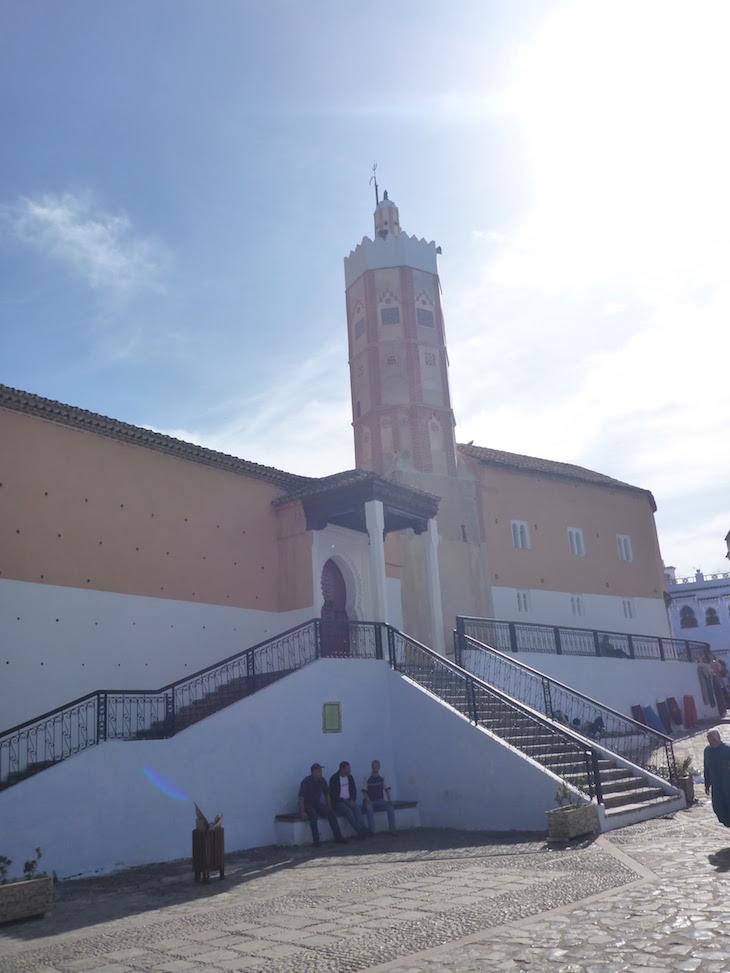 Praça Outa Hammam, Chefchaouen, Marrocos © Viaje Comigo