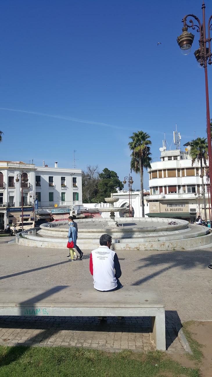 Praça de Tânger - Marrocos © Viaje Comigo