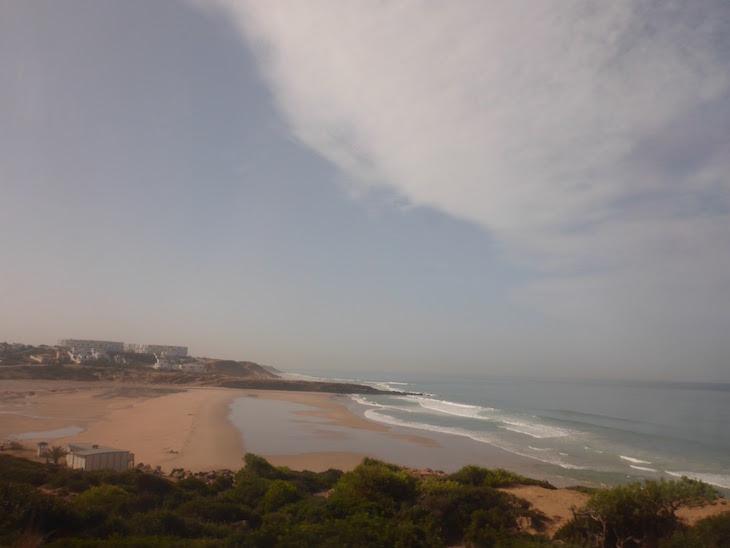 Praias a caminho do Cabo Spartel - Tânger - Marrocos © Viaje Comigo