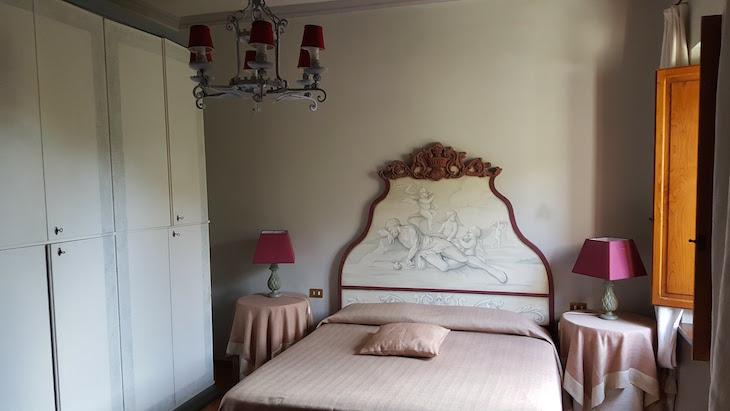 Quarto do Hotel La Gabelletta - Amelia © Viaje Comigo