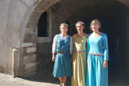Recriação medieval em Orte - IWW - Itália © Viaje Comigo