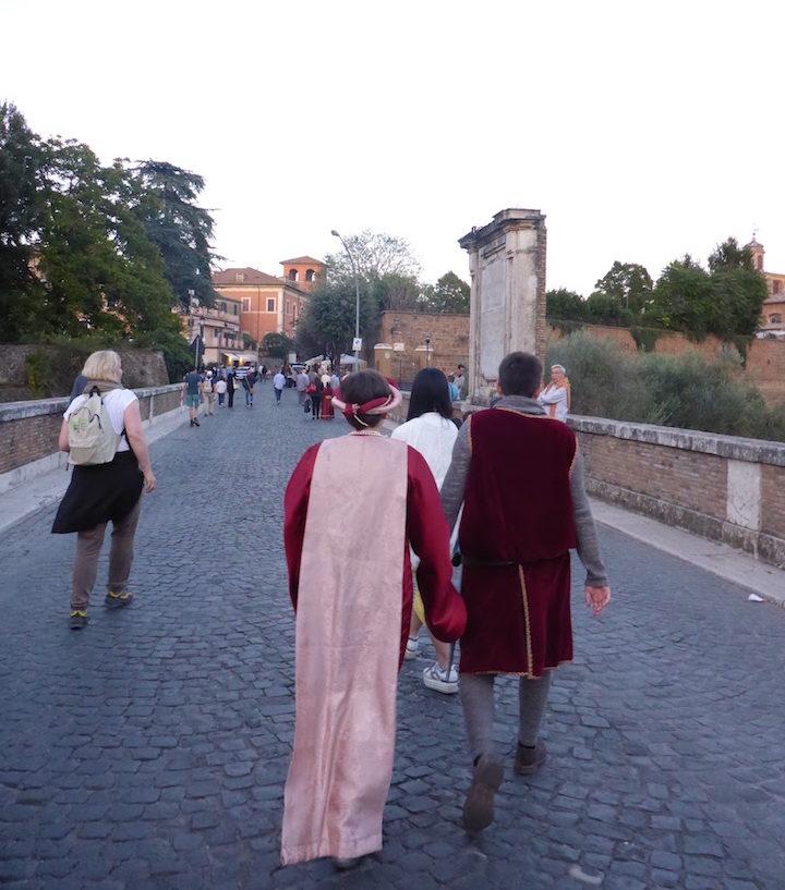 Recriação medieval em Civita Castellana - Itália © Viaje Comigo