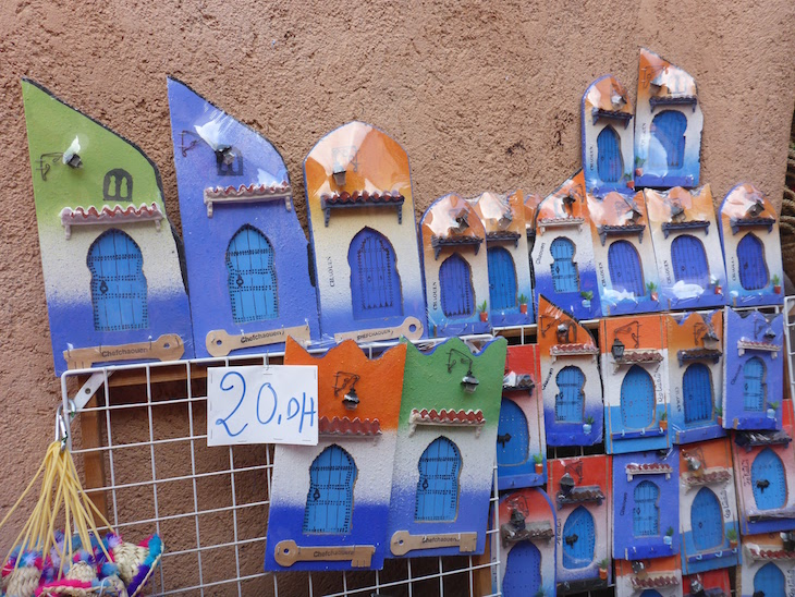 Souvenirs de Chefchaouen, Marrocos © Viaje Comigo