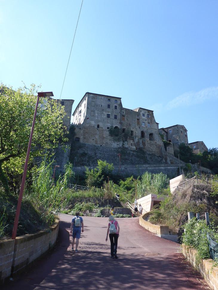 Subida para Orte - Italia © Viaje Comigo