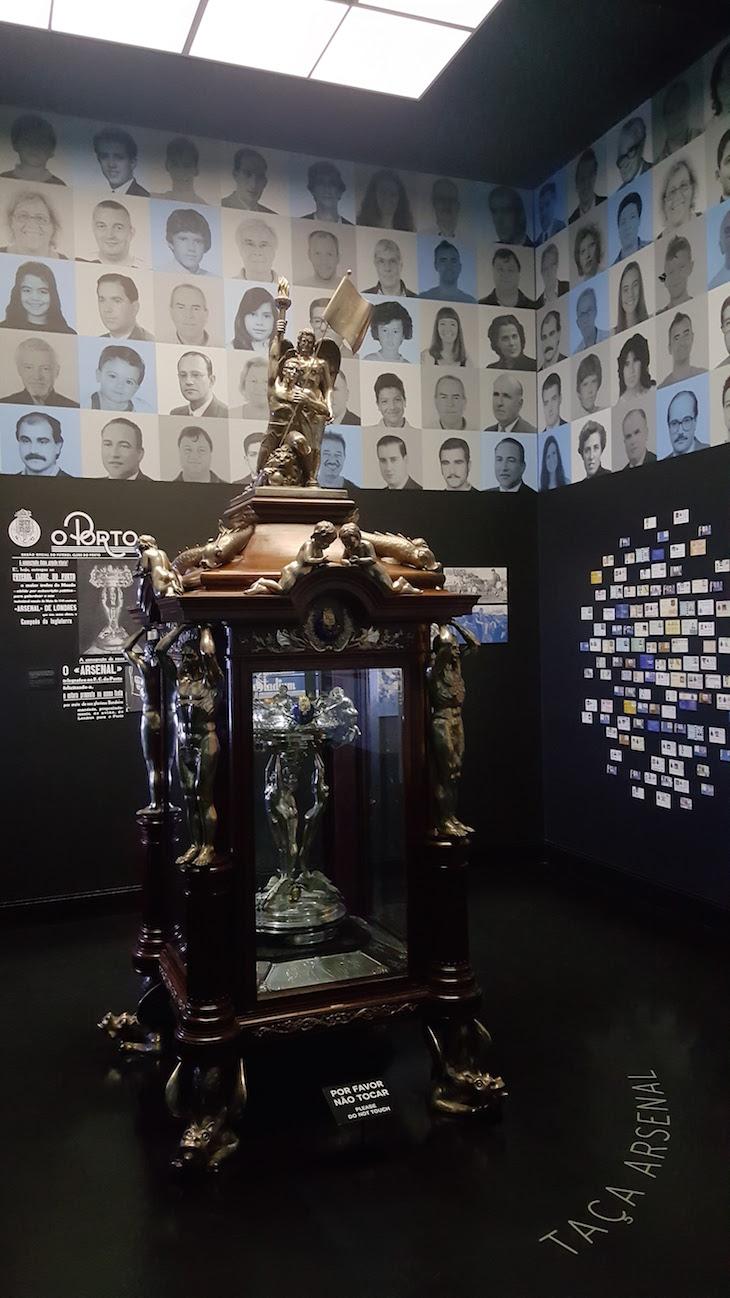 Taça Arsenal - Museu do Futebol Clube do Porto © Viaje Comigo