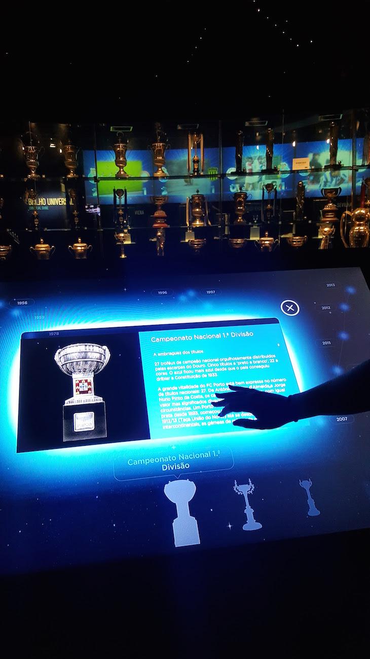 Taças nacionais - Museu do Futebol Clube do Porto © Viaje Comigo