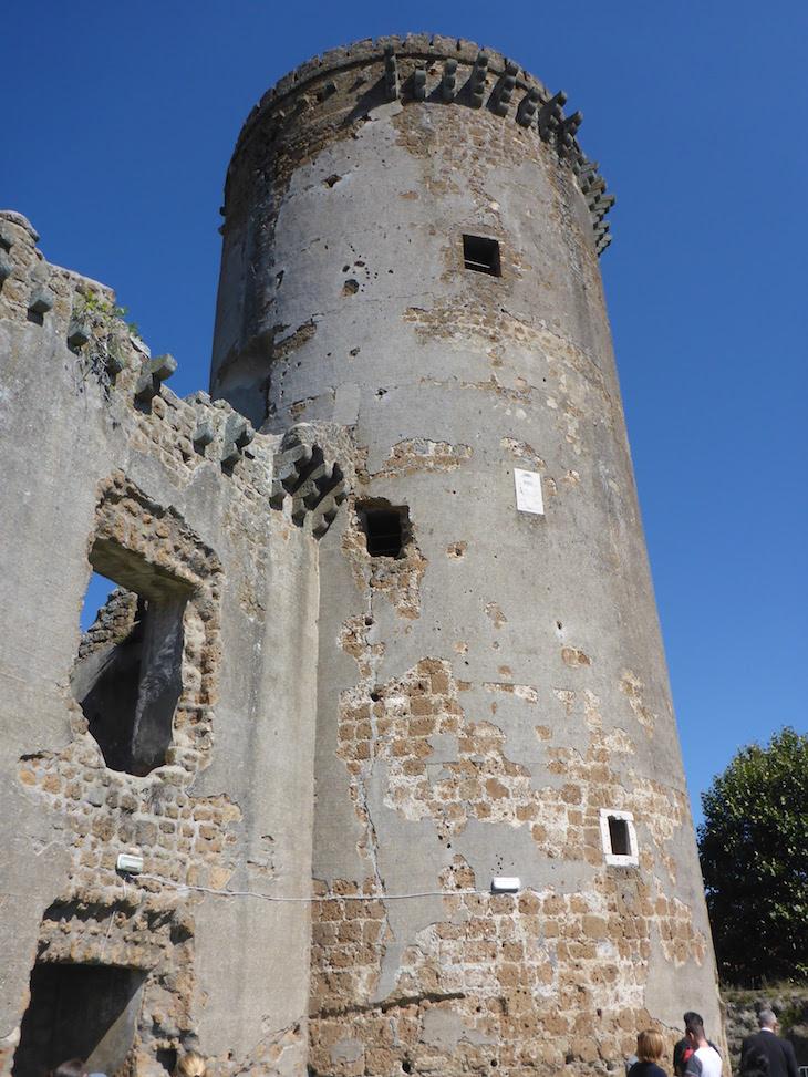 Torre do Castelo Borgia - Nepi - Itália © Viaje Comigo