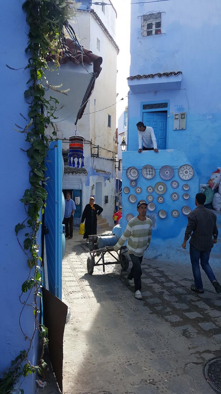 Vida em Chefchaouen, Marrocos © Viaje Comigo