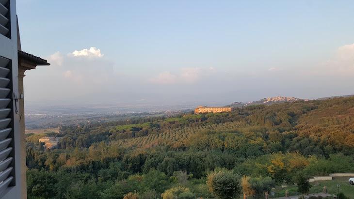 Vista da Villa Tuscolana - Itália © Viaje Comigo