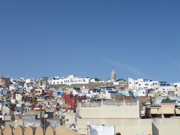 Vista dos telhados - Tânger - Marrocos © Viaje Comigo