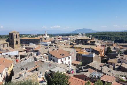 Vista do Castelo Borgia - Nepi - Itália © Viaje Comigo