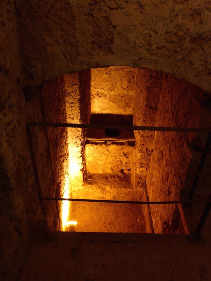 WC dentro do Castelo Borgia - Nepi - Itália © Viaje Comigo