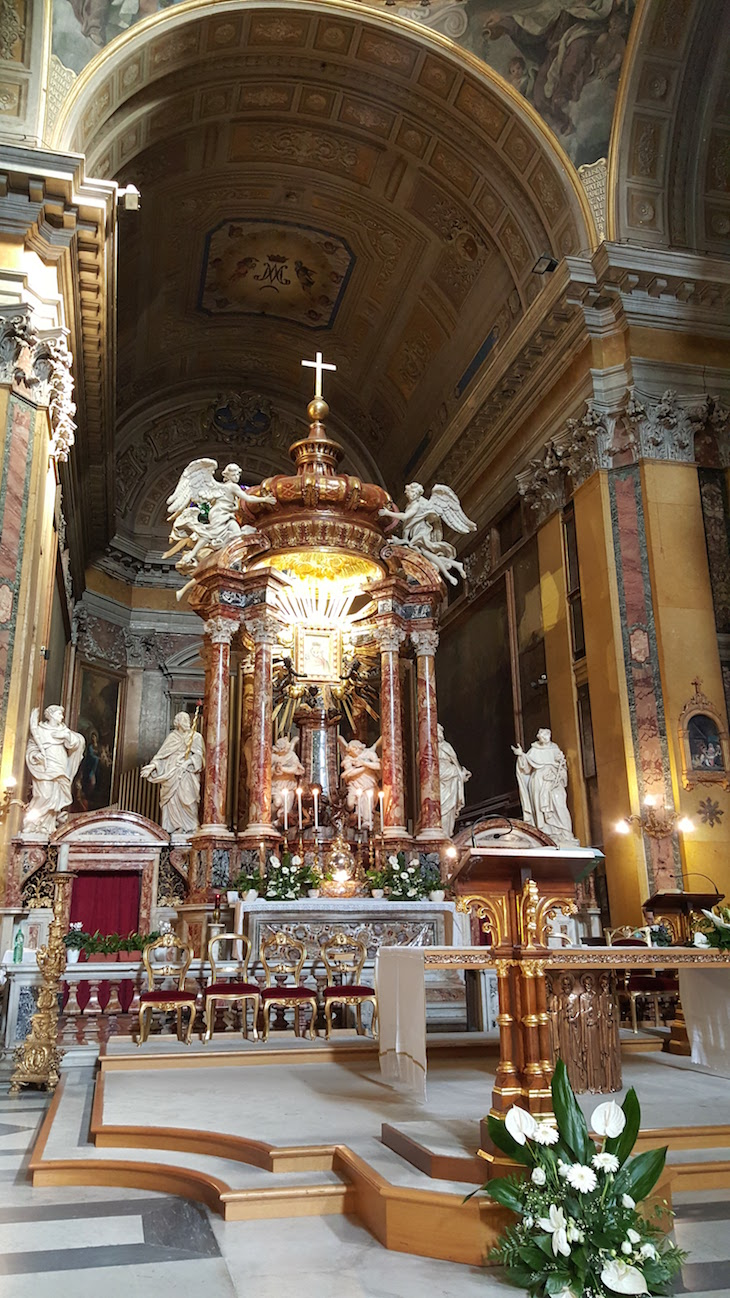 Igreja de Santa Maria em Traspontina, Roma © Viaje Comigo