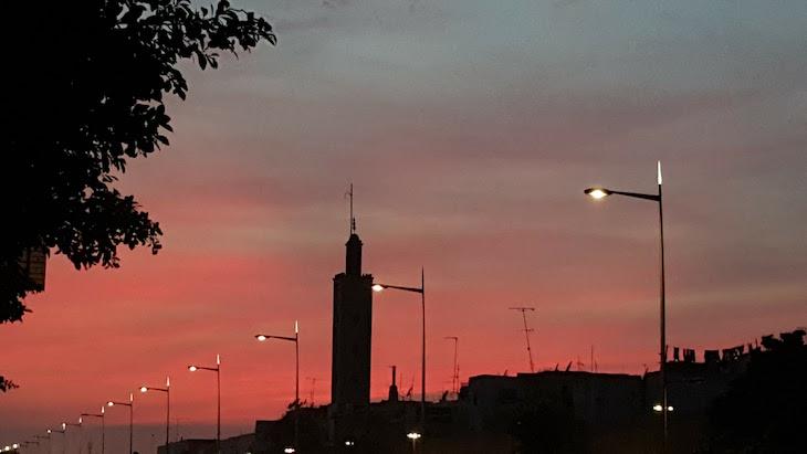 Anoitecer em Rabat, Marrocos © Viaje Comigo
